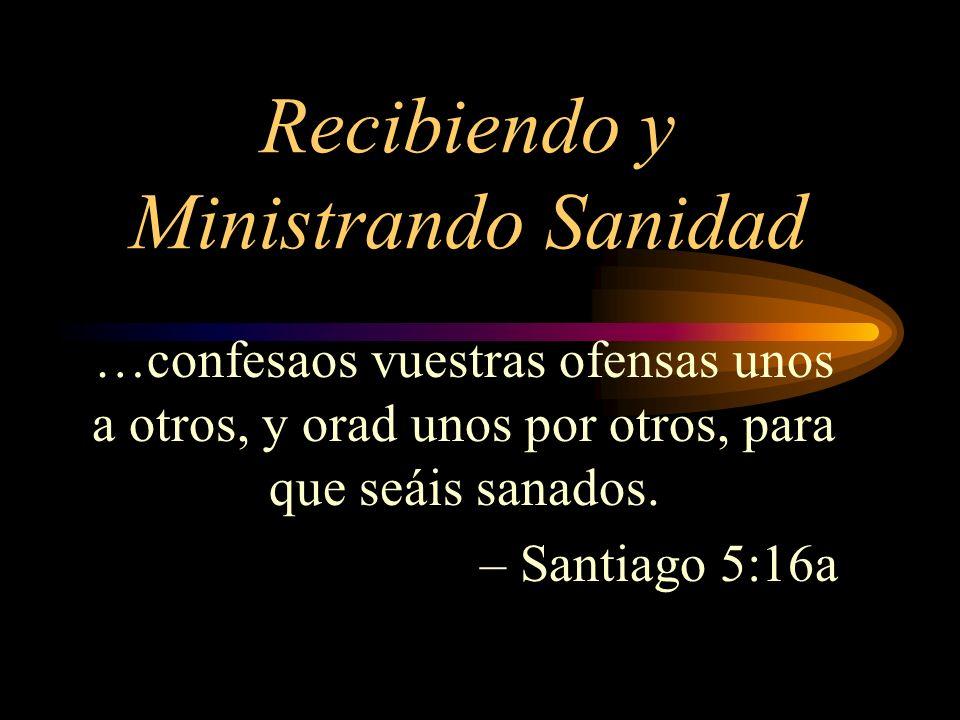 …confesaos vuestras ofensas unos a otros, y orad unos por otros, para que seáis sanados. – Santiago 5:16a