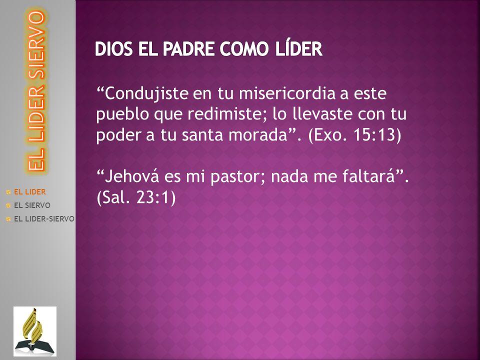 EL LIDER EL SIERVO EL LIDER-SIERVO b) El siervo, al servicio del cristiano Jun.