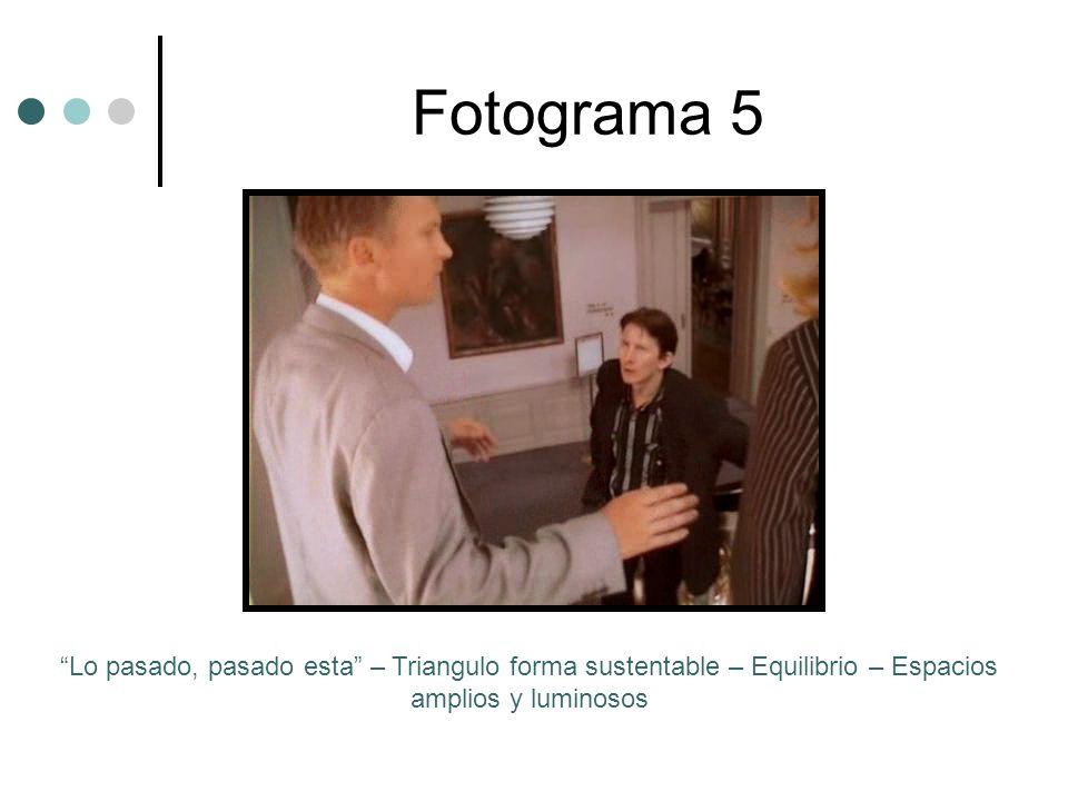 Fotograma 5 Lo pasado, pasado esta – Triangulo forma sustentable – Equilibrio – Espacios amplios y luminosos