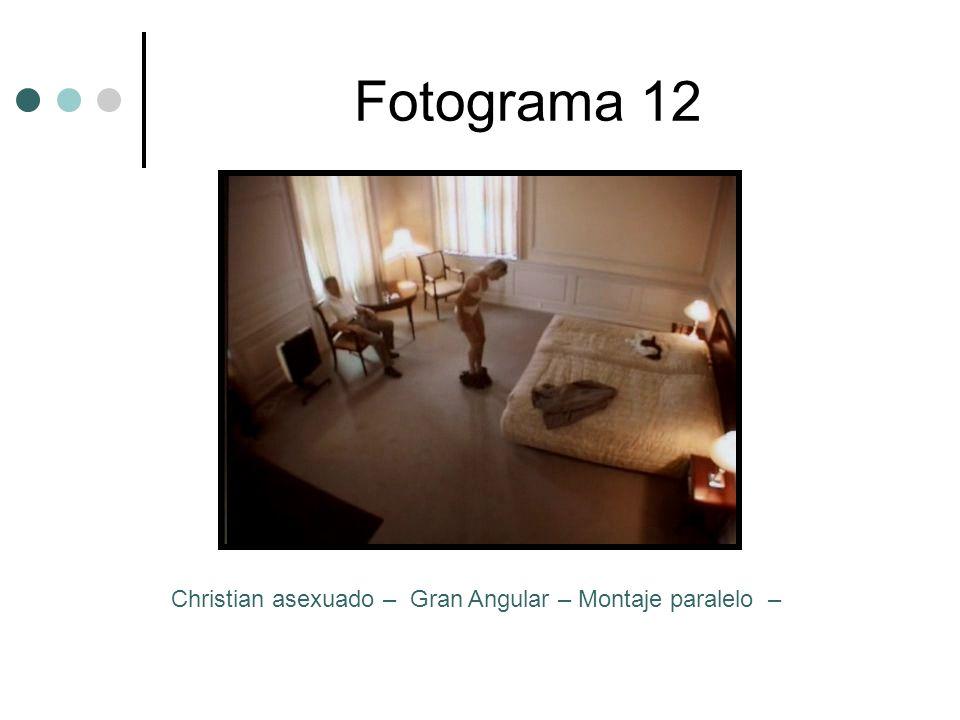 Fotograma 12 Christian asexuado – Gran Angular – Montaje paralelo –
