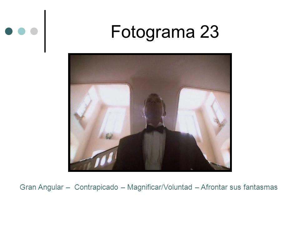 Fotograma 23 Gran Angular – Contrapicado – Magnificar/Voluntad – Afrontar sus fantasmas
