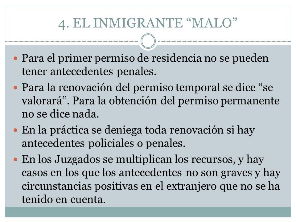 Para el primer permiso de residencia no se pueden tener antecedentes penales.
