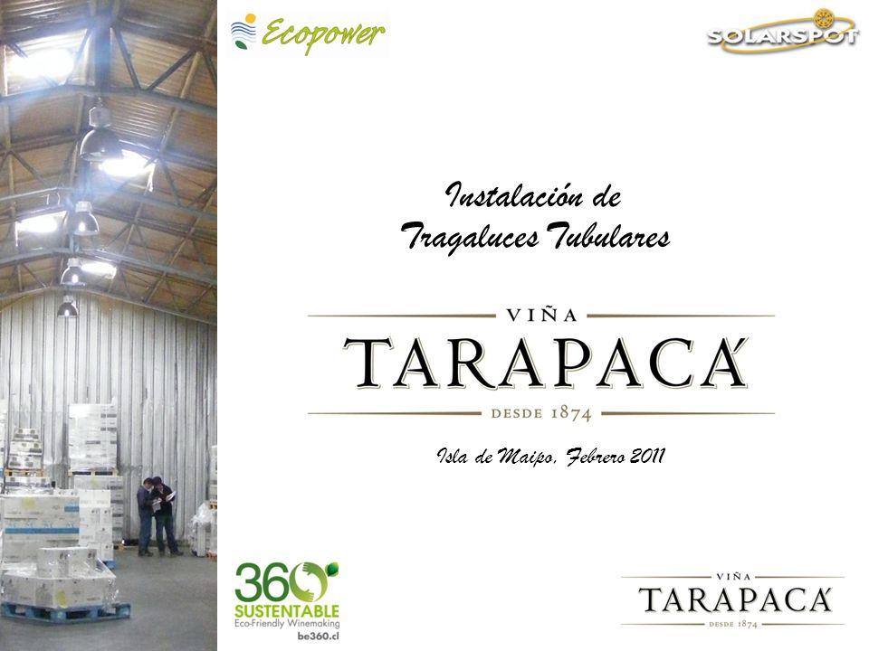 Entrada a la Viña Vi ñ aTarapac á es parte del Grupo San Pedro Tarapacá