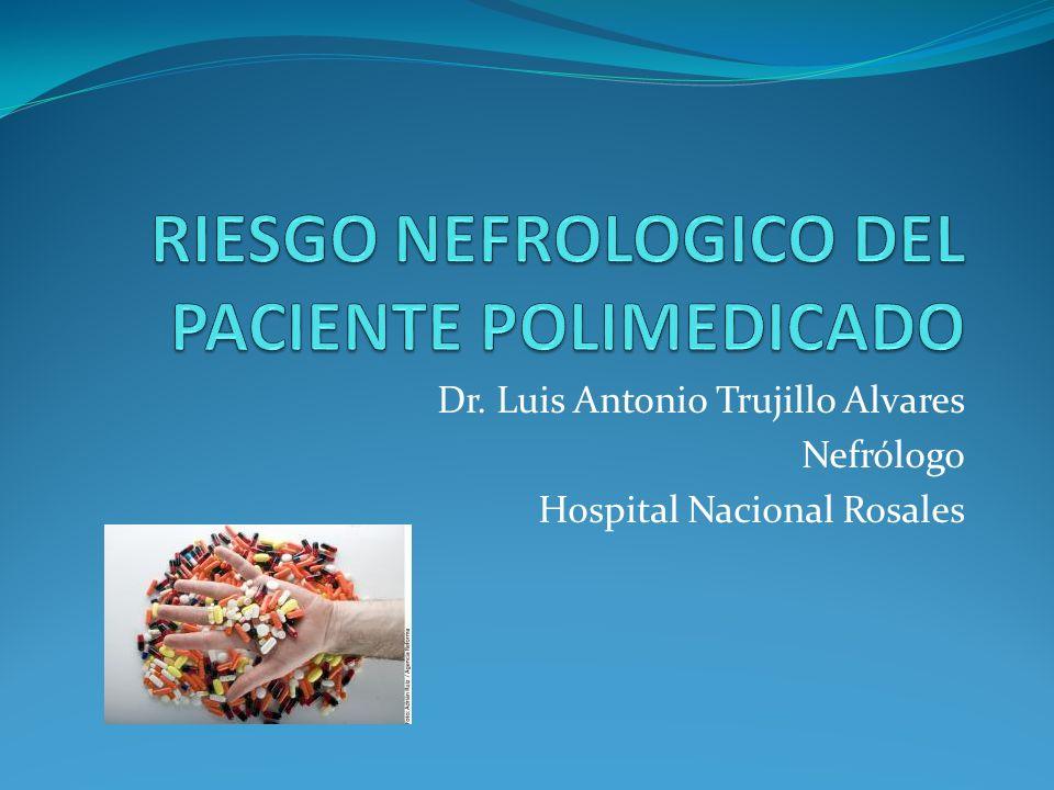 Dr. Luis Antonio Trujillo Alvares Nefrólogo Hospital Nacional Rosales