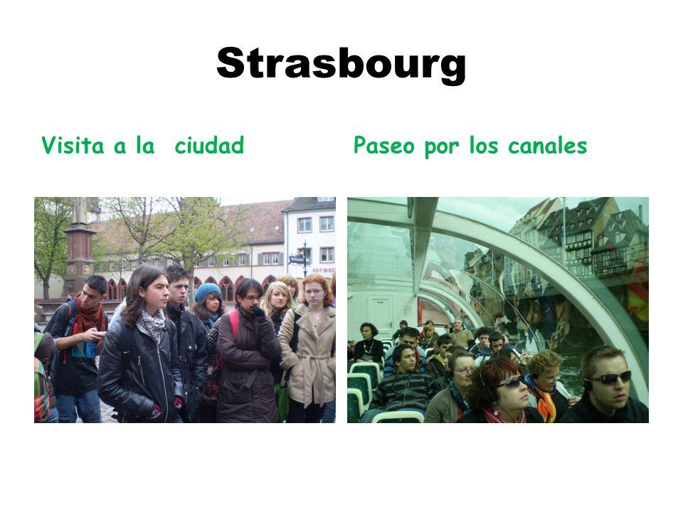 Strasbourg Visita a la ciudadPaseo por los canales