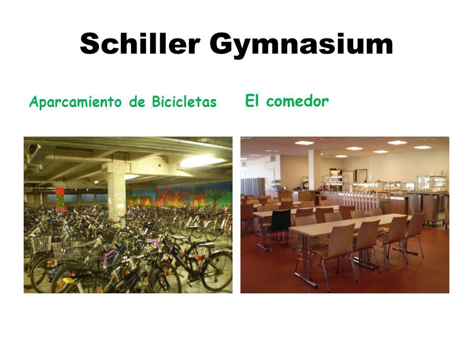 Schiller Gymnasium Aparcamiento de Bicicletas El comedor