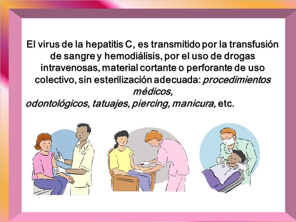 Soy vulnerable a los diversos virus de la hepatitis, los cuales viven en la sangre, en la saliva, en los excrementos y en el sémen humano. Casi siempr