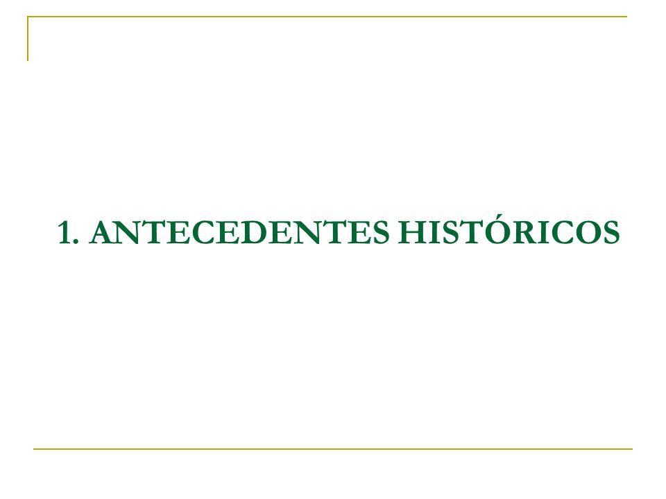 1. ANTECEDENTES HISTÓRICOS