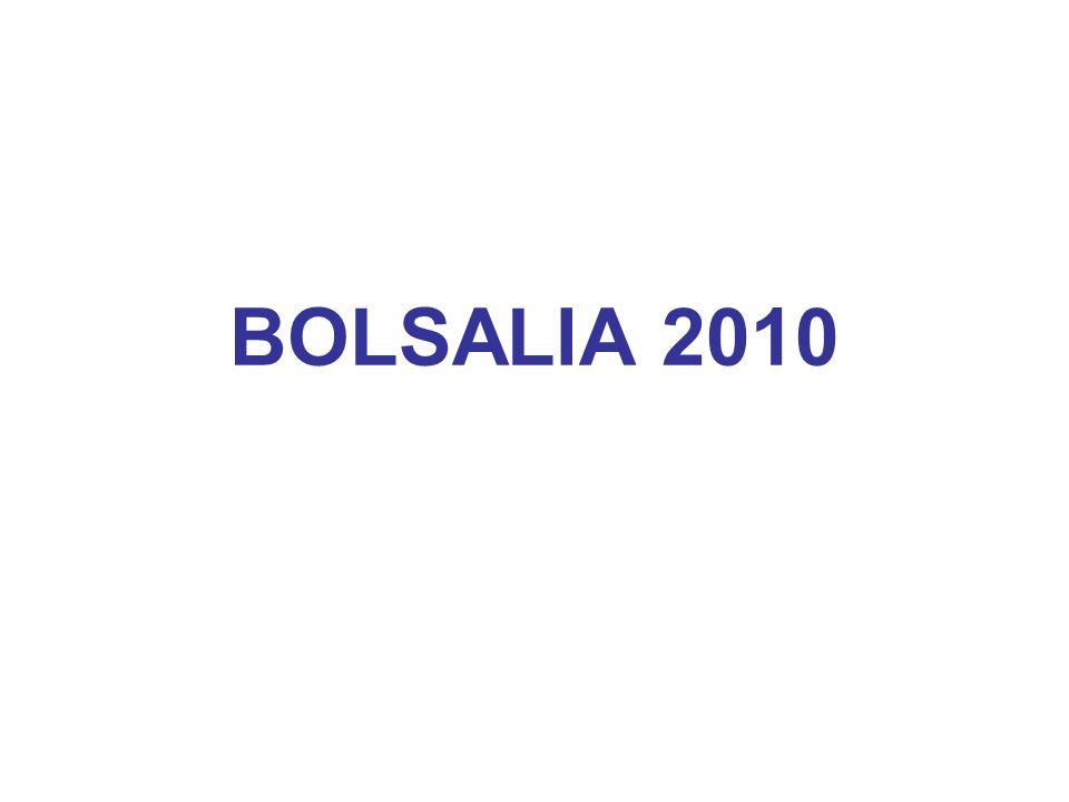 BOLSALIA 2010
