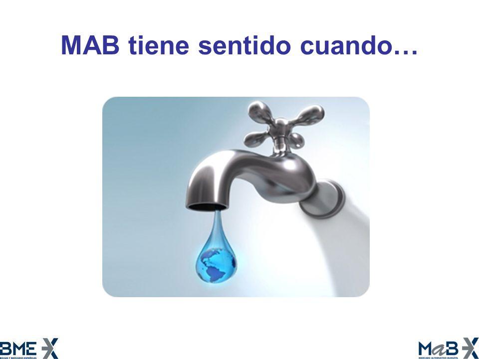 MAB tiene sentido cuando…