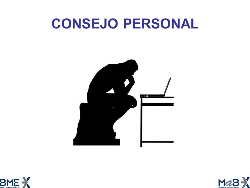 CONSEJO PERSONAL