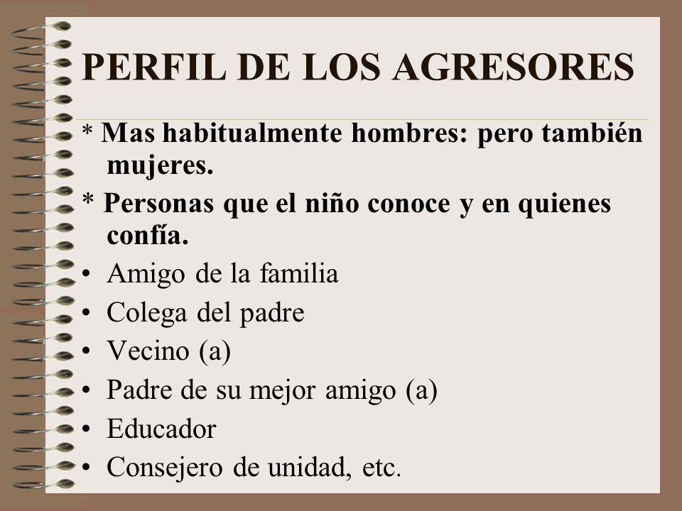 FORMAS INTERMEDIAS DE ABUSO SEXUAL