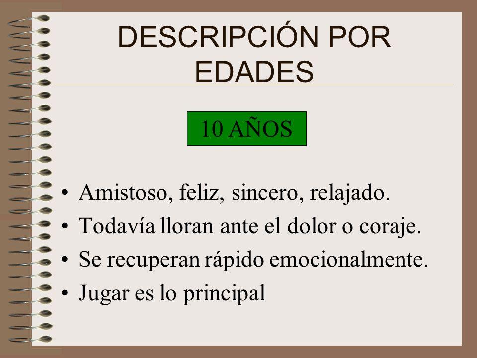 g) TOMAR RIESGOS -Experimentador -Creativo -Quiere ser diferente a sus padres (independencia) -Nuevas emociones son lo máximo. h) IDENTIDAD PERSONAL -