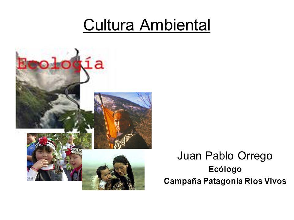 Juan Pablo Orrego Ecólogo Campaña Patagonia Ríos Vivos Cultura Ambiental