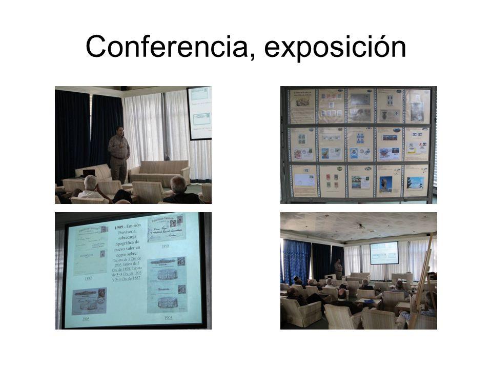 Conferencia, exposición