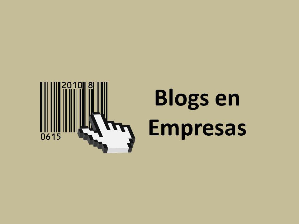 Blogs en Empresas