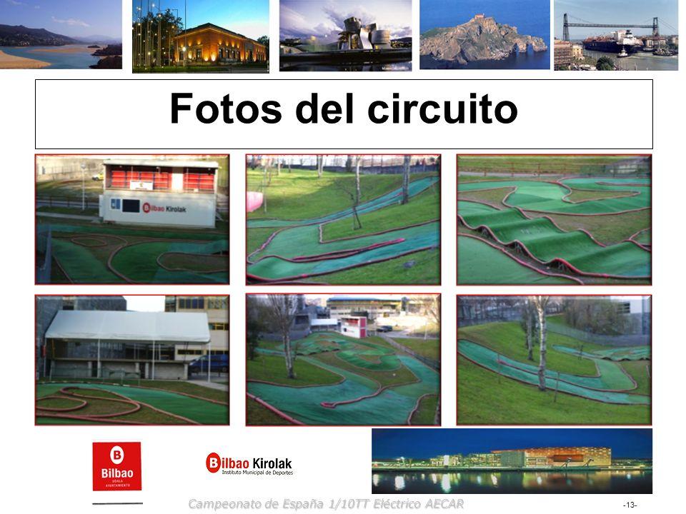 -13- Campeonato de España 1/10TT Eléctrico AECAR Fotos del circuito