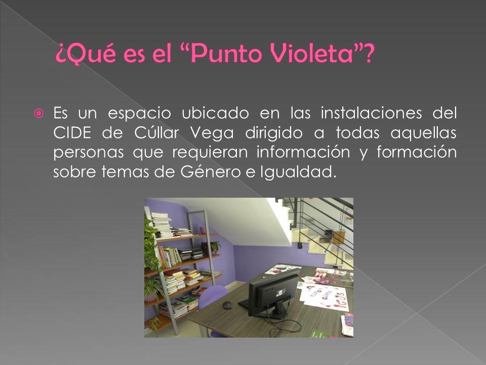 Es un espacio ubicado en las instalaciones del CIDE de Cúllar Vega dirigido a todas aquellas personas que requieran información y formación sobre tema