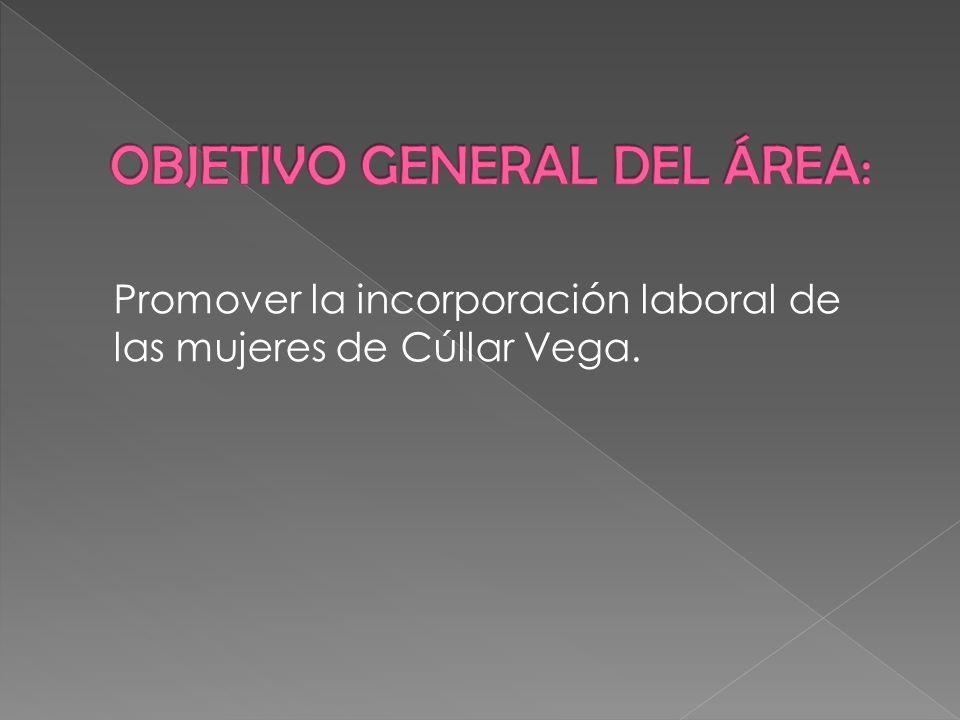 Promover la incorporación laboral de las mujeres de Cúllar Vega.