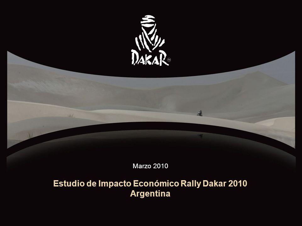 MARZO 20101 Estudio de Impacto Económico Rally Dakar 2010 Argentina Marzo 2010