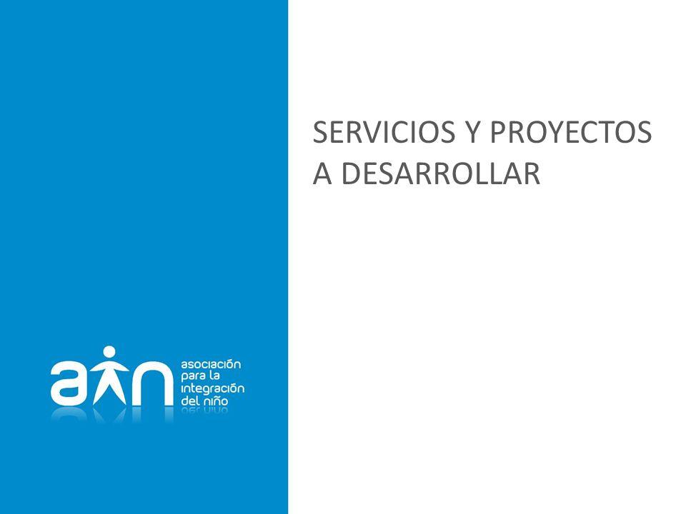 SERVICIOS Y PROYECTOS A DESARROLLAR
