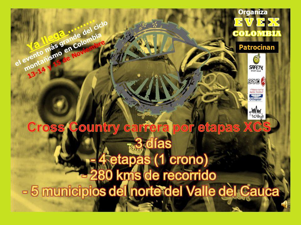 Organiza Ya llega ……… el evento más grande del ciclo montañismo en Colombia 13-14 y 15 de Noviembre Patrocinan