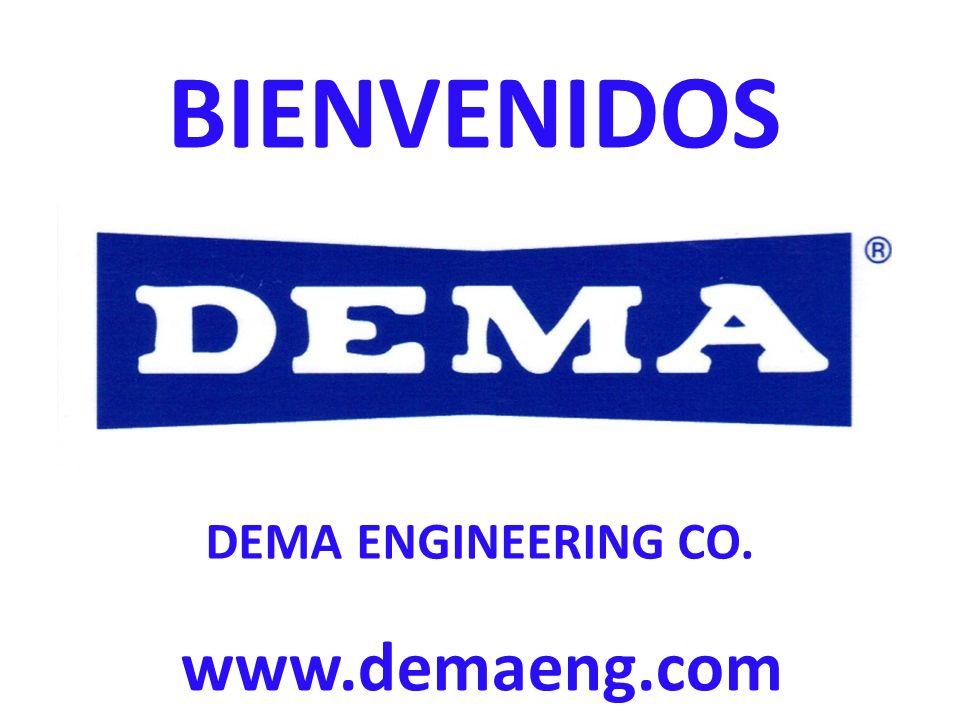 BIENVENIDOS www.demaeng.com DEMA ENGINEERING CO.