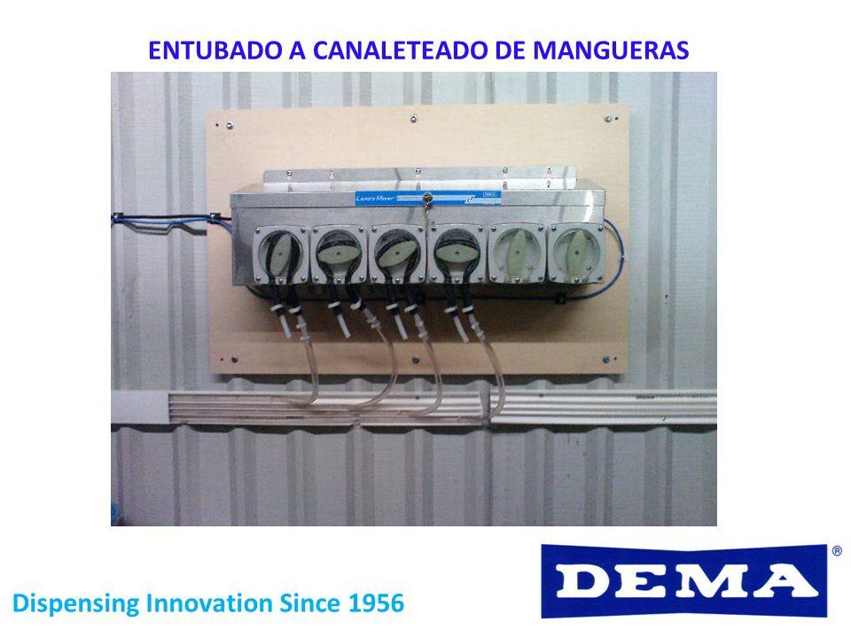 ENTUBADO A CANALETEADO DE MANGUERAS