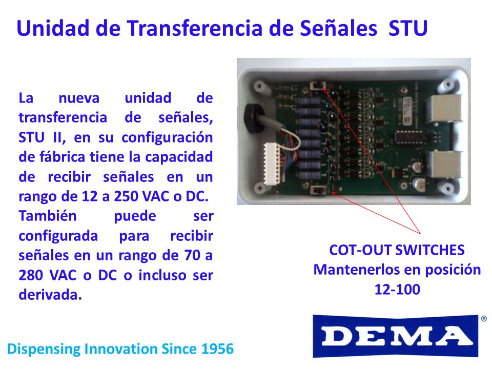 Dispensing Innovation Since 1956 PARA EQUIPOS CON TARJETA IQ-80 IQ-85 IQ-85AC.