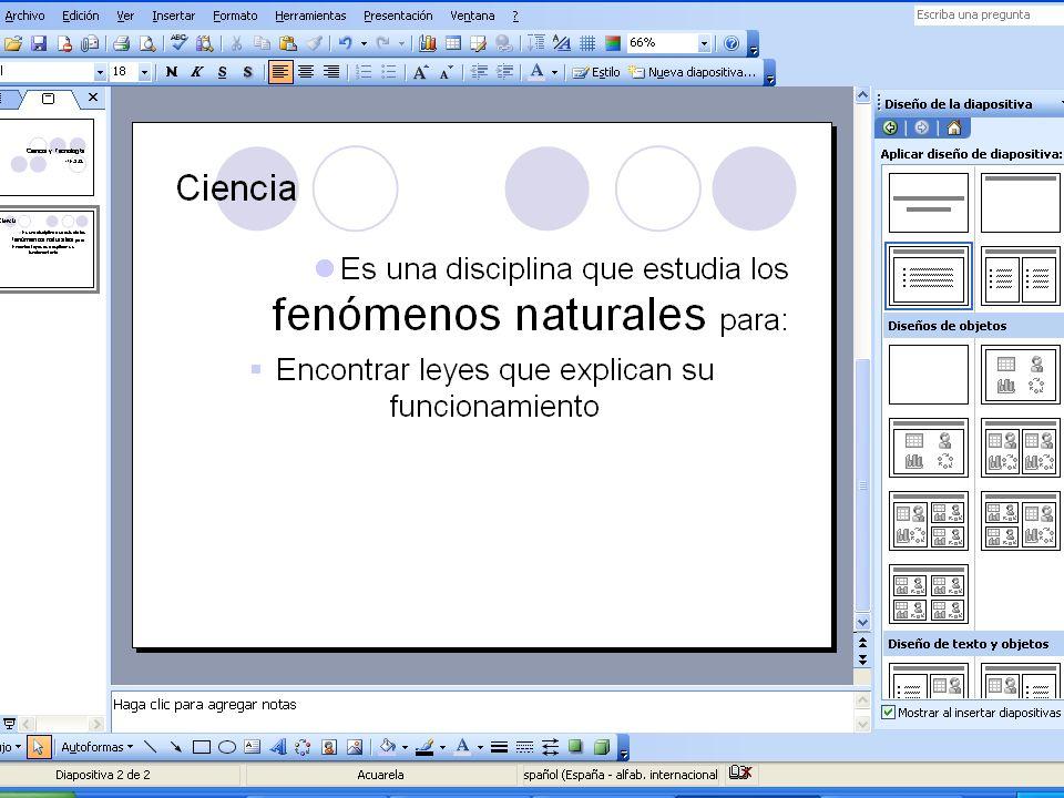 Formato del texto Formato Fuente, para cambiar el tipo de letra utilizado y su tamaño. Formato Fuente, para cambiar el tipo de letra utilizado y su ta