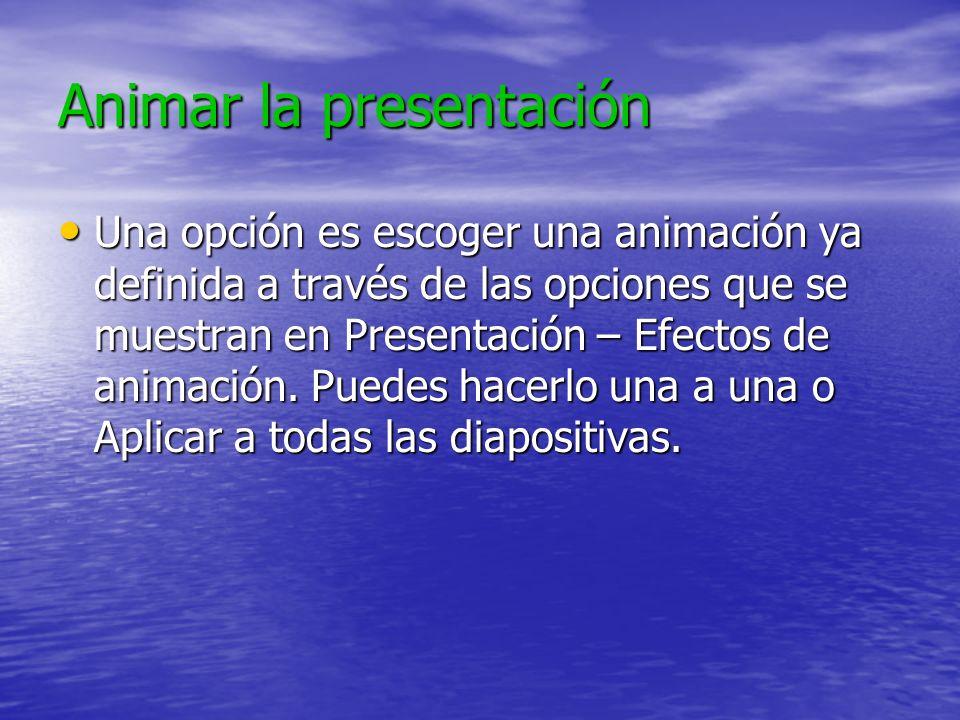 Impresión Archivo – Imprimir Archivo – Imprimir Se pueden imprimir las diapositivas Se pueden imprimir las diapositivas Se pueden imprimir las notas S
