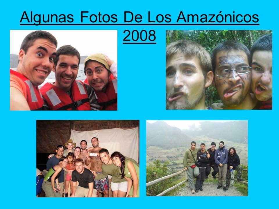 Algunas Fotos De Los Amazónicos 2008