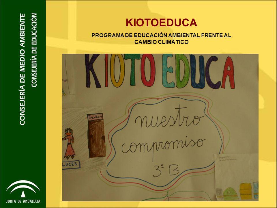 1.- La coordinación Papel de la coordinación Referente de KiotoEduca en el centro.