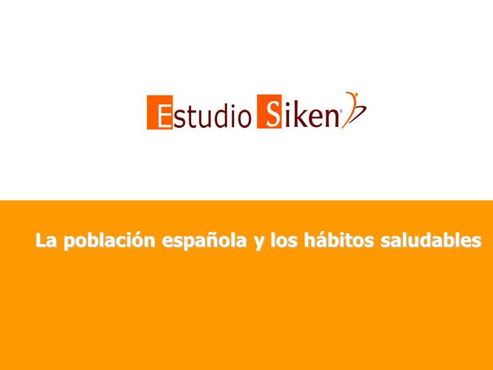 La población española y los hábitos saludables