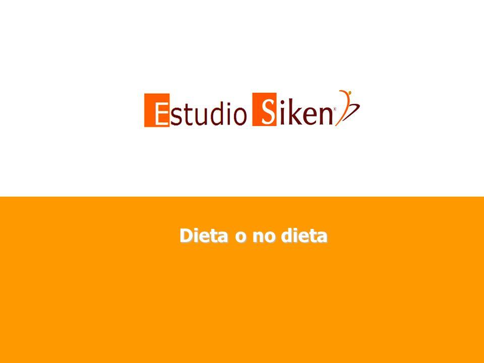 Dieta o no dieta