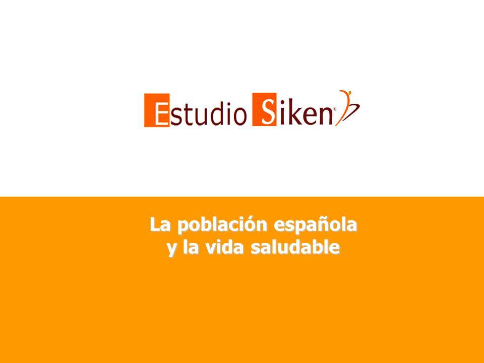 La población española y la vida saludable