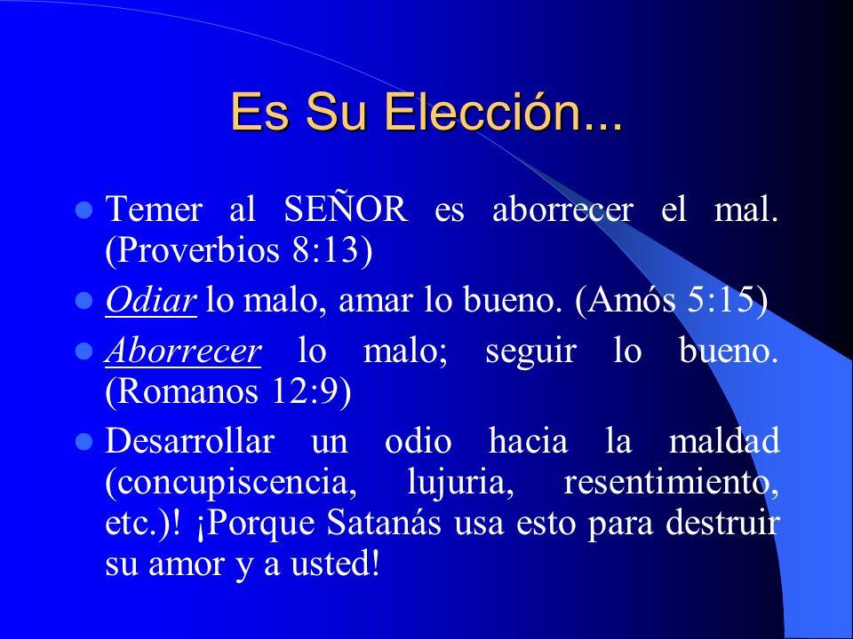 Evite la Tentación Dios nos llama a ser, sobre todo, sabios antes que fuertes.