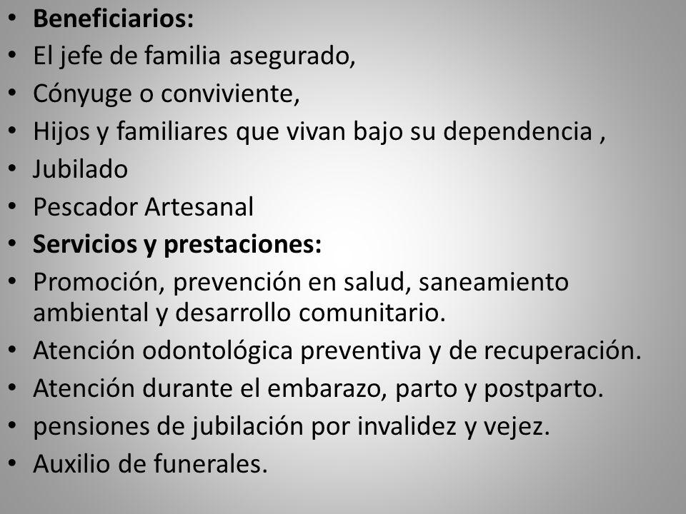 AUXILIO DE FUNERALES Se concede cuando fallece cualquier miembro de la familia afiliada al Seguro Social Campesino.