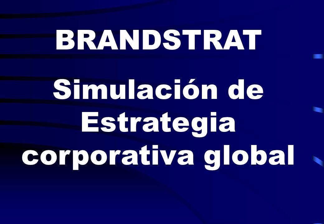 BRANDSTRAT Simulación de Estrategia corporativa global