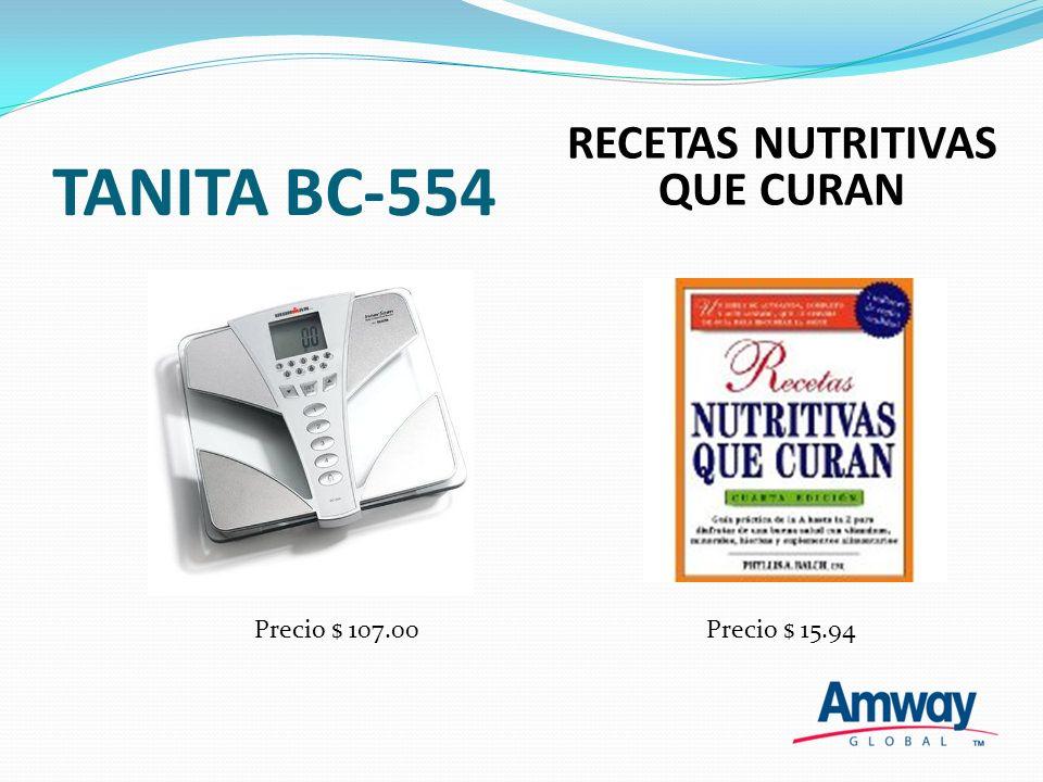 TANITA BC-554 La Tanita es un monitor de composición Corporal que le provee a fondo información sobre su cuerpo.