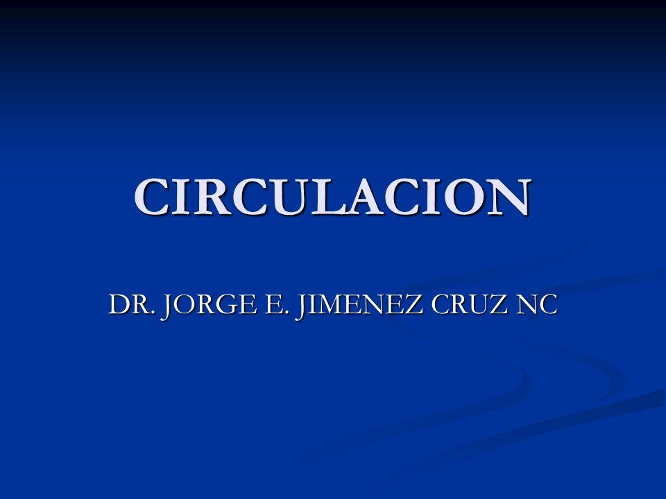 CIRCULACION DR. JORGE E. JIMENEZ CRUZ NC