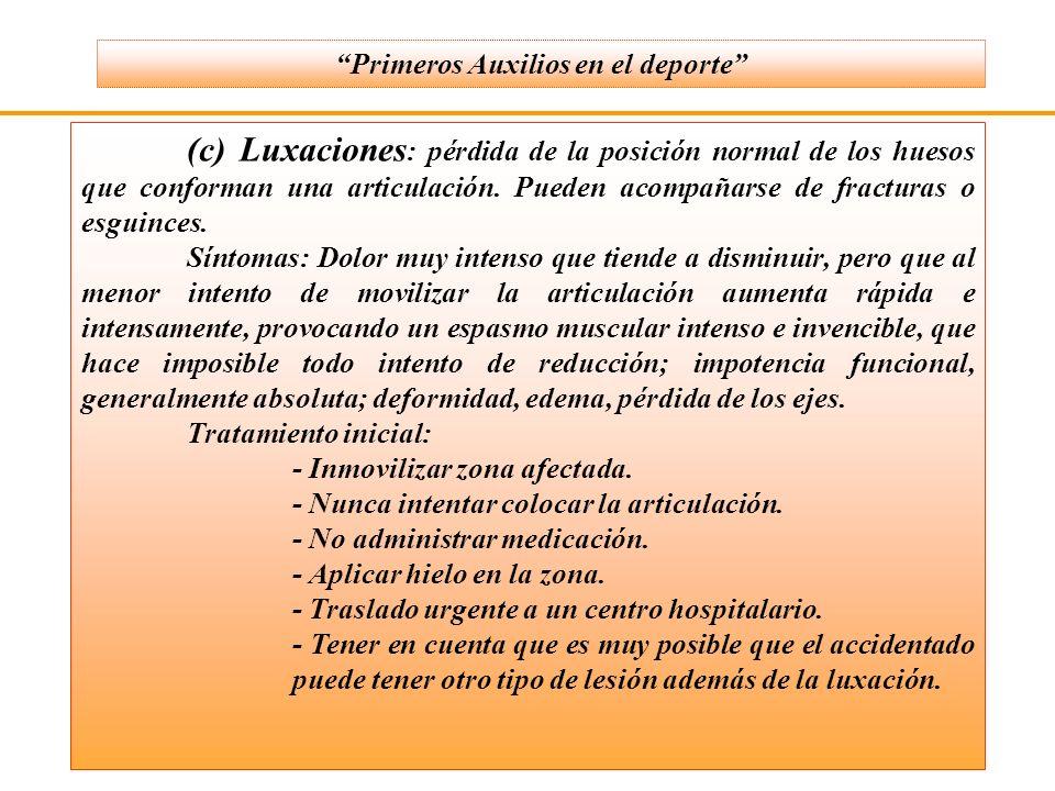 * Asfixia por obstrucción: parcial (la víctima es capaz de eliminarla tosiendo) o completa (necesita ayuda.