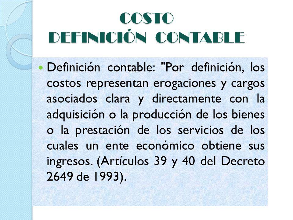 Entre los objetivos y funciones de la determinación de costos, encontramos los siguientes: 1.