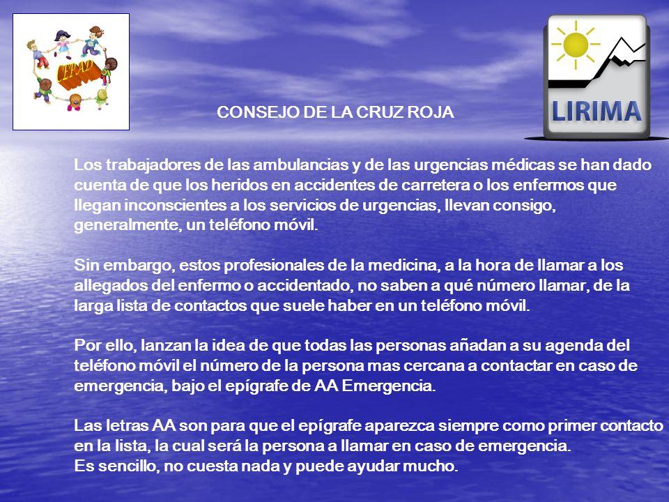 Los trabajadores de las ambulancias y de las urgencias médicas se han dado cuenta de que los heridos en accidentes de carretera o los enfermos que lle