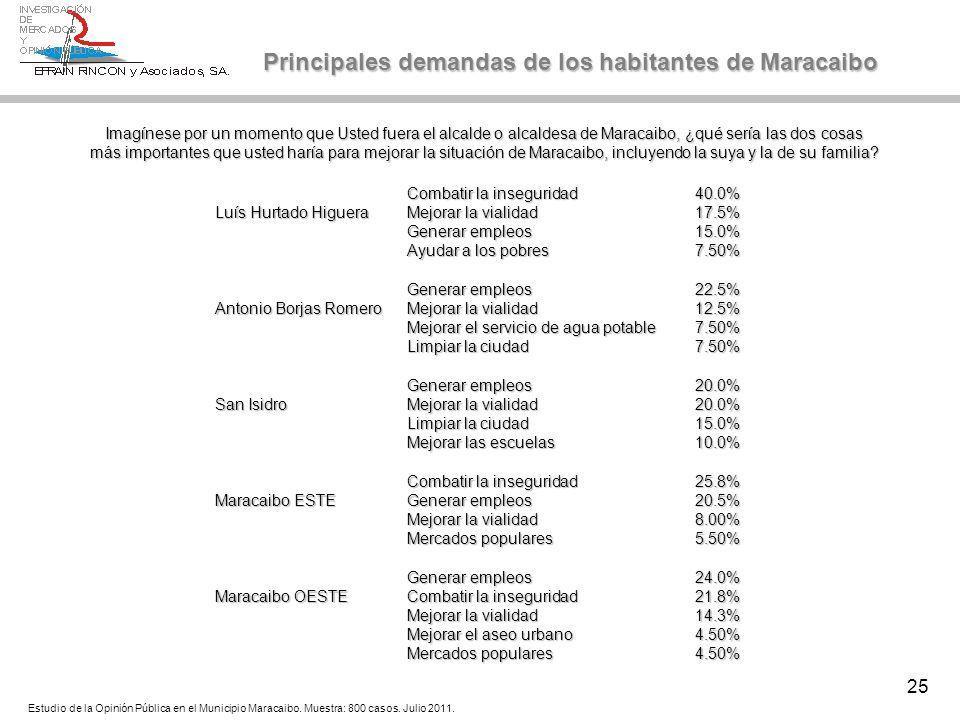 25 Combatir la inseguridad40.0% Luís Hurtado Higuera Mejorar la vialidad17.5% Generar empleos15.0% Ayudar a los pobres7.50% Generar empleos22.5% Anton