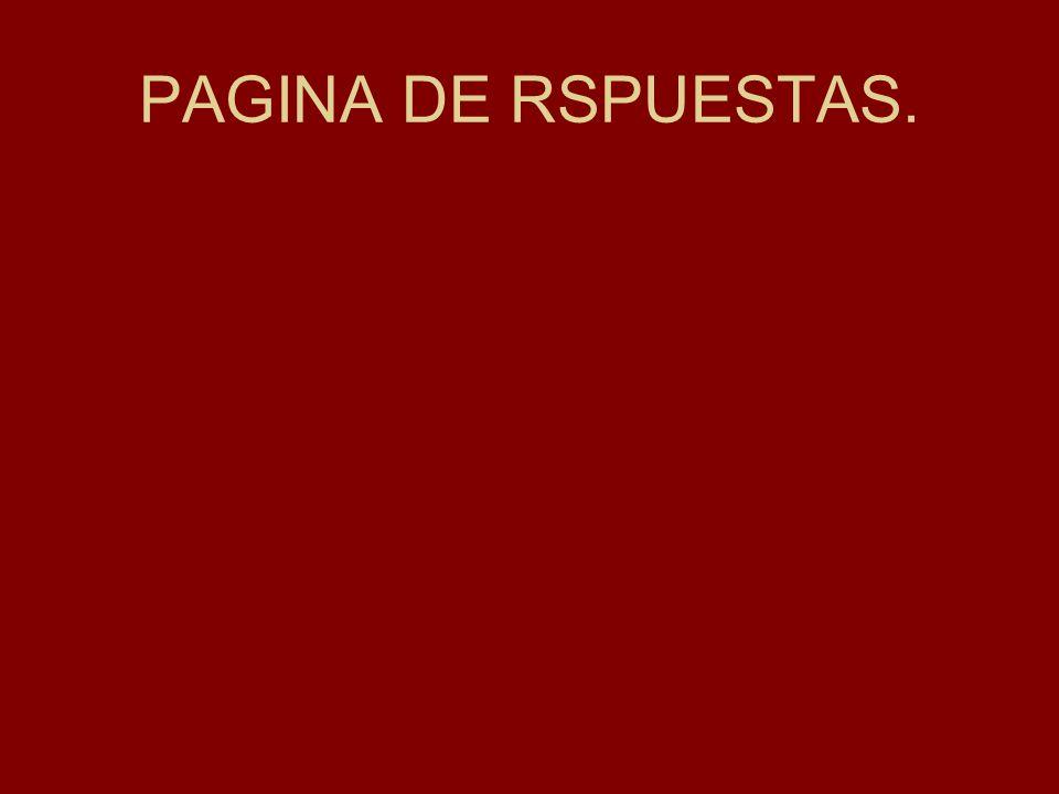 PAGINA DE RSPUESTAS.