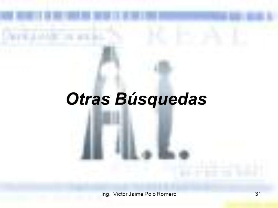 Ing. Victor Jaime Polo Romero31 Otras Búsquedas