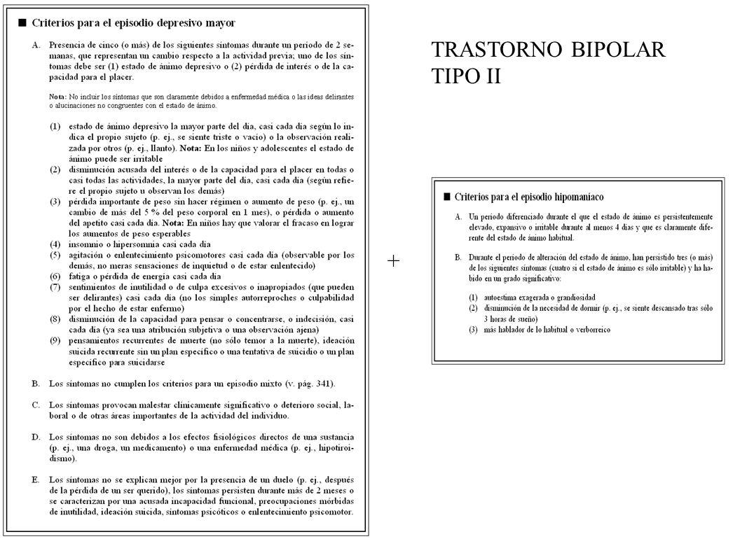 CICLOTIMIA: T.BIPOLAR III o T.PERSONALIDAD?