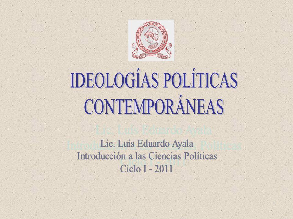 2 1.Conceptos básicos sobre Ideologías políticas.