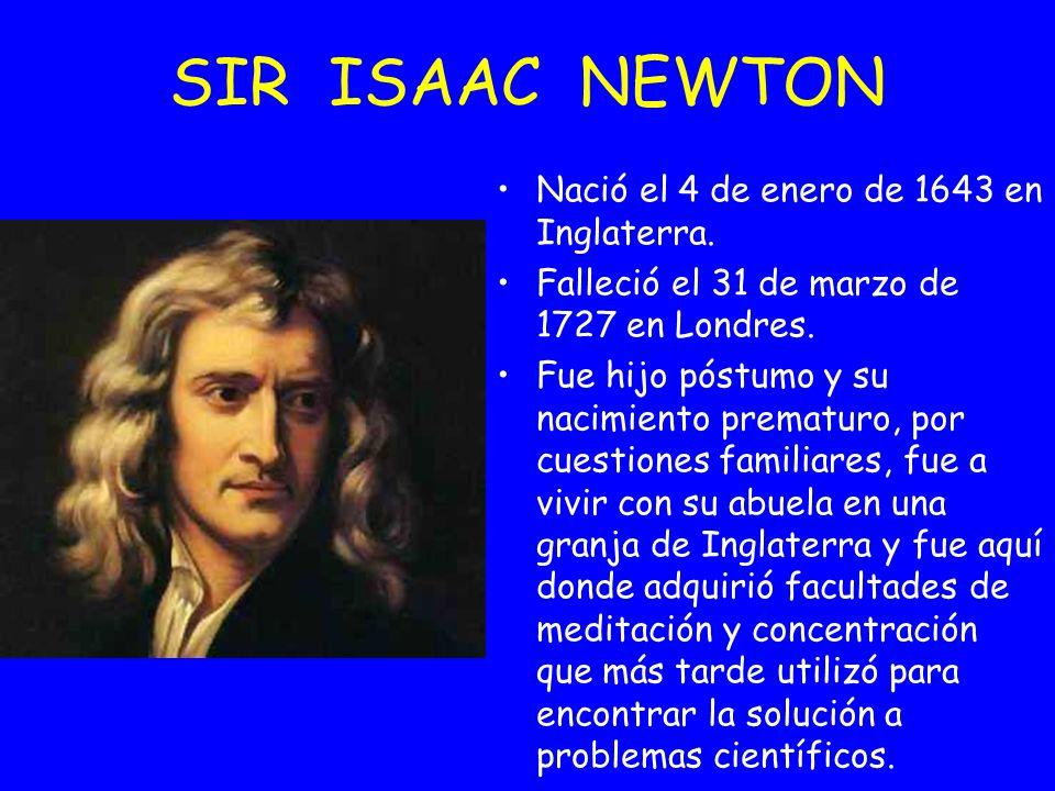 Nació el 4 de enero de 1643 en Inglaterra. Falleció el 31 de marzo de 1727 en Londres. Fue hijo póstumo y su nacimiento prematuro, por cuestiones fami